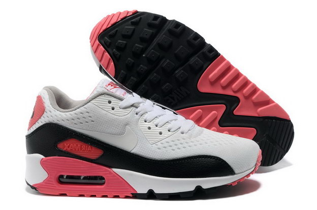 Men's Air Max 90 Premium EM Shoes White/black red